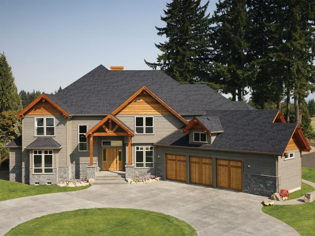Pabco Roofing Installed On A Custom Home In Vancouver WA