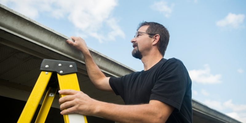 inspecting your roof in vancouver wa
